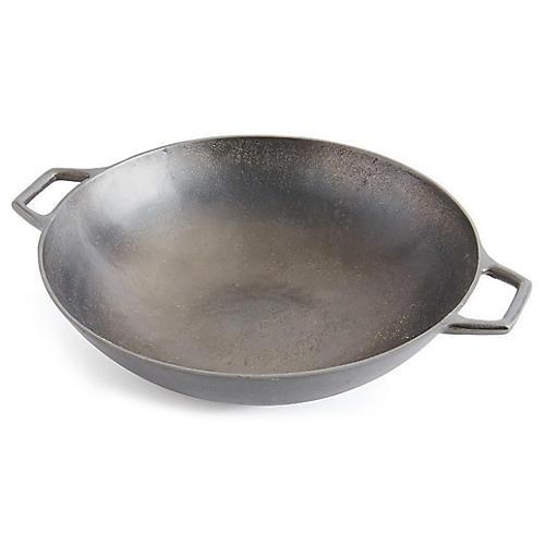 "19"" Porter Decorative Bowl, Gray"