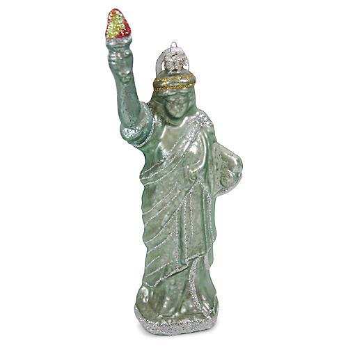 Statue of Liberty Ornament, Green/Multi