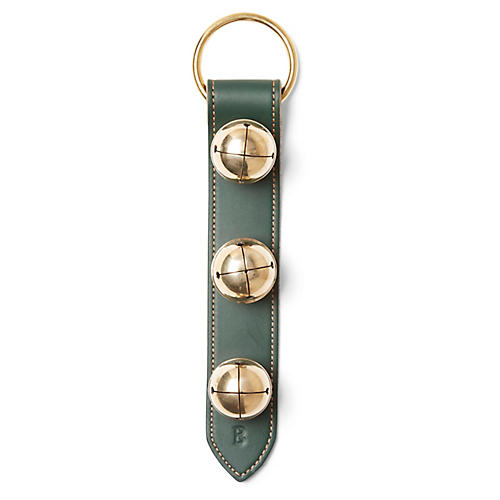 Alpine Wide-Stitched Bells, Green