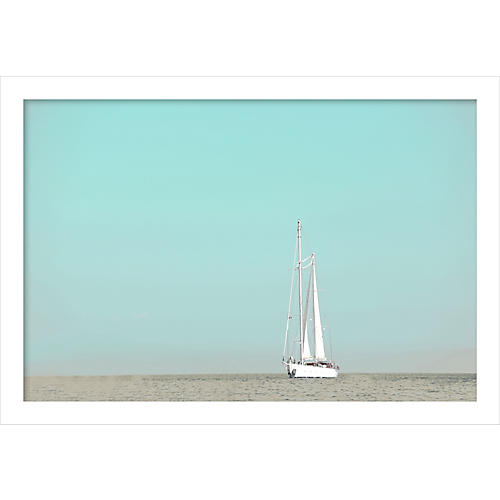 Judith Gigliotti, Sailing in the Med