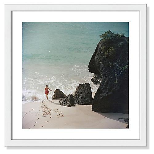 Slim Aarons, Bermuda Beach