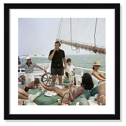 Slim Aarons, Black Pearl Trippers