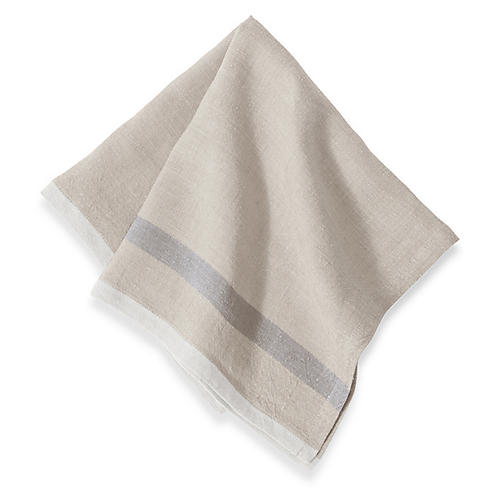 S/4 Anton Dinner Napkins, Natural
