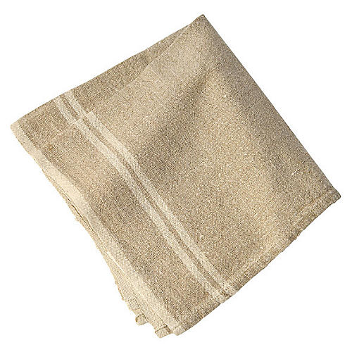 S/4 Wagner Dinner Napkins, Natural