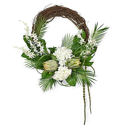 "30"" Grapevine Wreath, Faux"