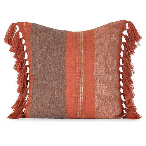 Native 20x20 Pillow, Burnt Orange