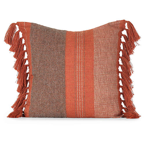Native 20x20 Pillow, Burnt Orange