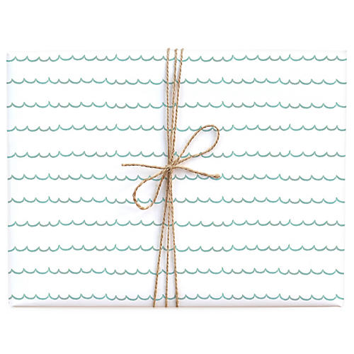 S/3 Scallops Gift Wrap