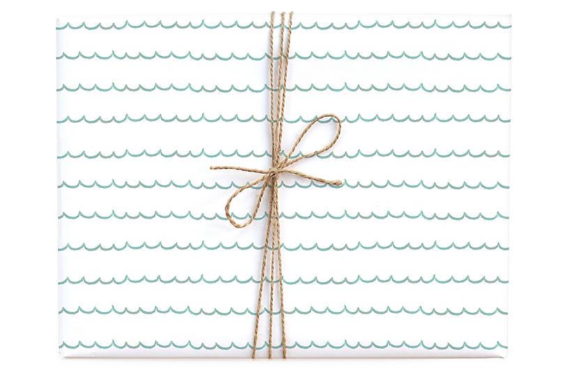 S/3 Scallops Gift Wrap