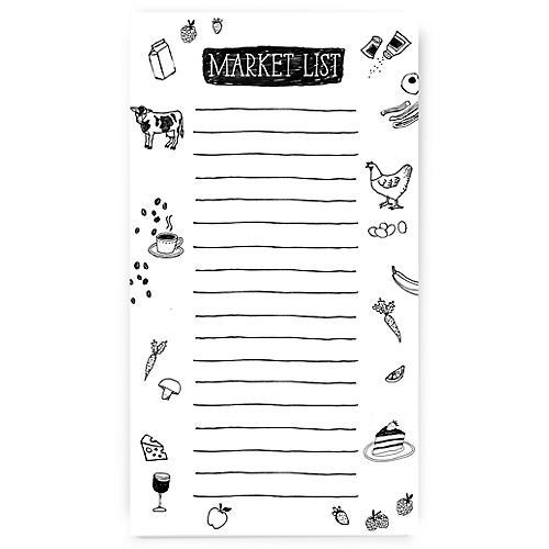 S/2 Market List Notepads