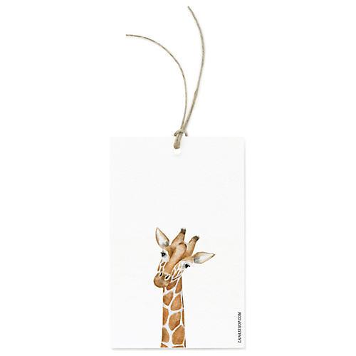 S/12 Baby Giraffe Gift Tags