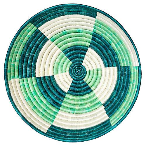 """12"""" Korren Elegu Basket, Island Blue"""