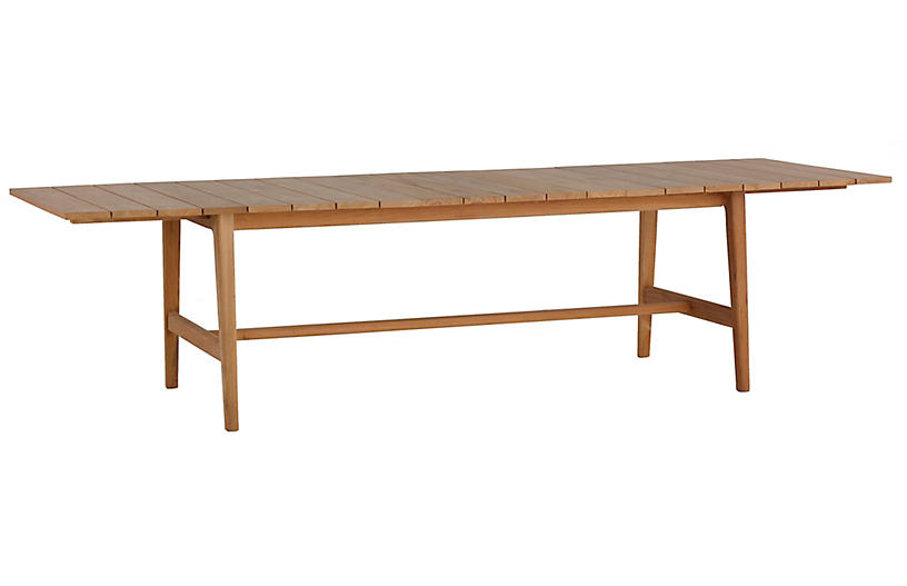 Coast Extension Dining Table, Natural