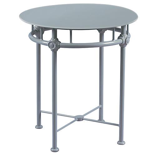 1800 Outdoor Bistro Table, Blue