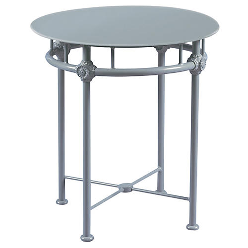 1800 Outdoor Bistro Table, Blue