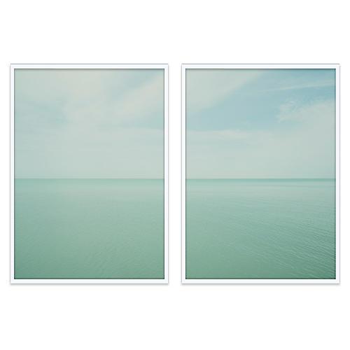 Christine Flynn, Lake Huron Diptych