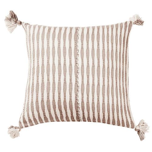 Antigua 20x20 Pillow, Tan