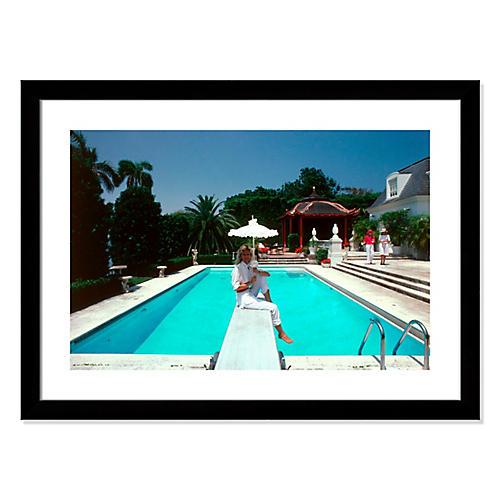 Slim Aarons, Pool And Parasol