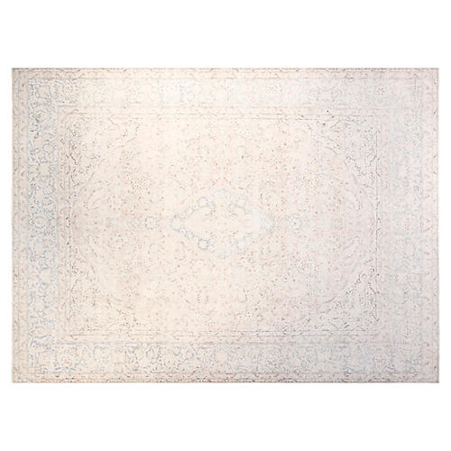 10'x14' Paxton Hand-Knotted Rug, Bone