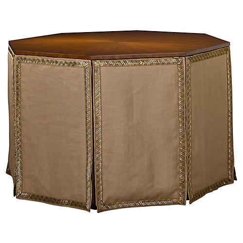 Havenhurst Side Table, Tan Linen