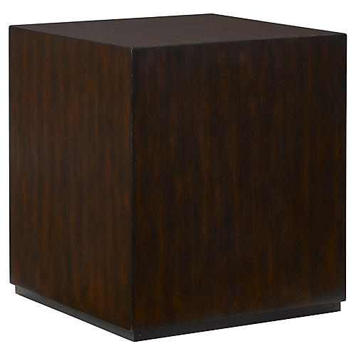 Sunset Side Table, Brown