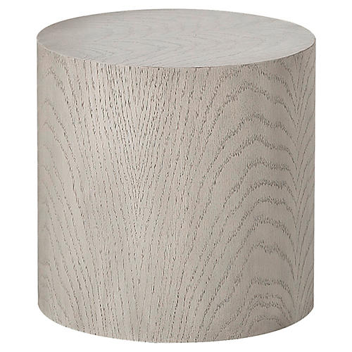 Morgan Round Side Table, Natural