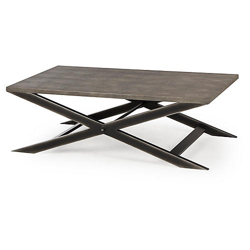 Stanley Coffee Table, Gray