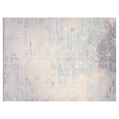10'x14' Tierra Rug, Light Blue