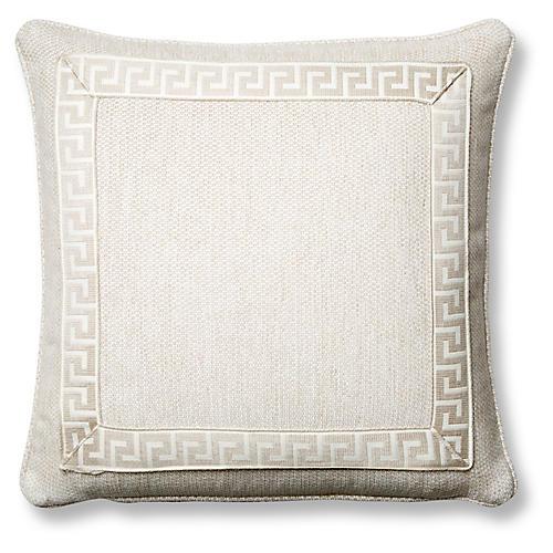 Tailor 20x20 Pillow, Natural Sunbrella