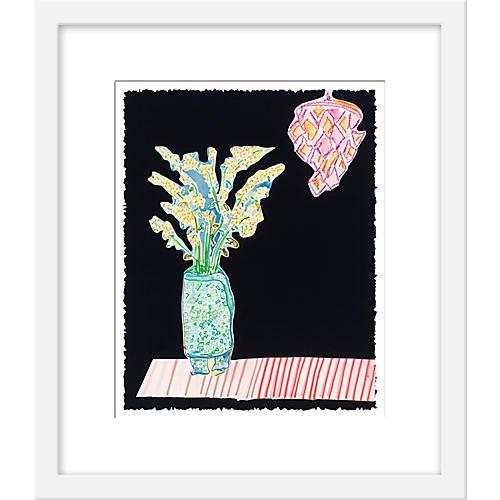 Kate Lewis, Flowers on Stripes
