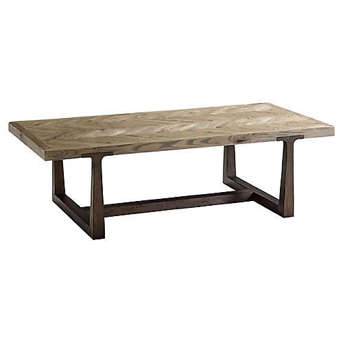 Stafford Coffee Table, Echo Oak