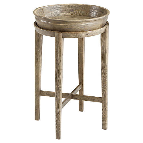 Newton Side Table, Echo Oak