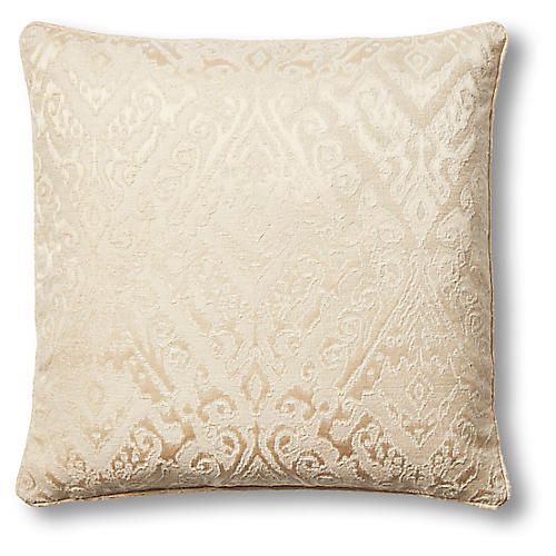 Helios 22x22 Pillow, Sand