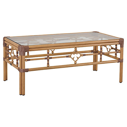 Mimi Coffee Table, Natural/Cappuccino