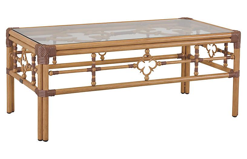 Mimi Coffee Table, Natural/Cappuccino