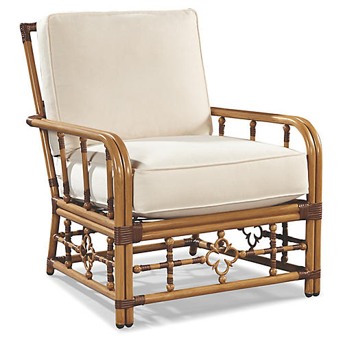 Mimi Lounge Chair, Canvas Sunbrella