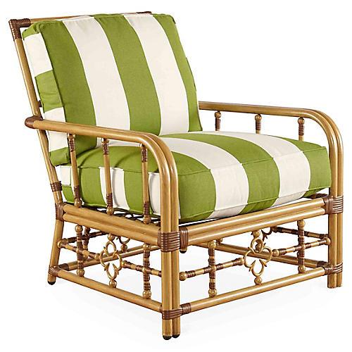 MImi Lounge Chair, Cilantro Sunbrella