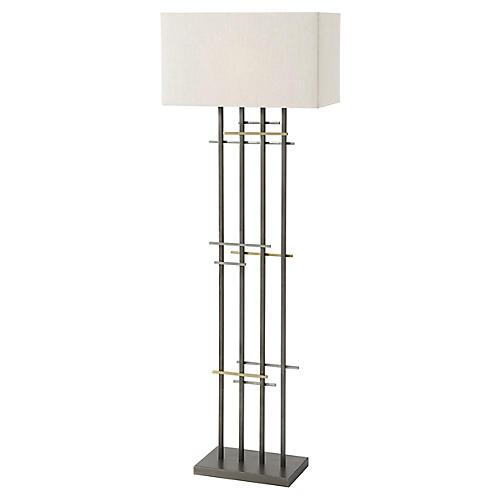 Grade Floor Lamp, White