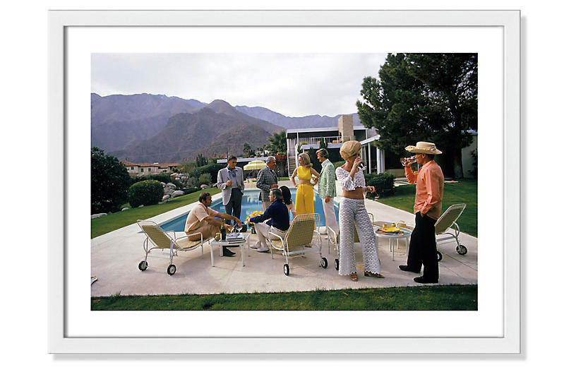 Slim Aarons, Desert House Party