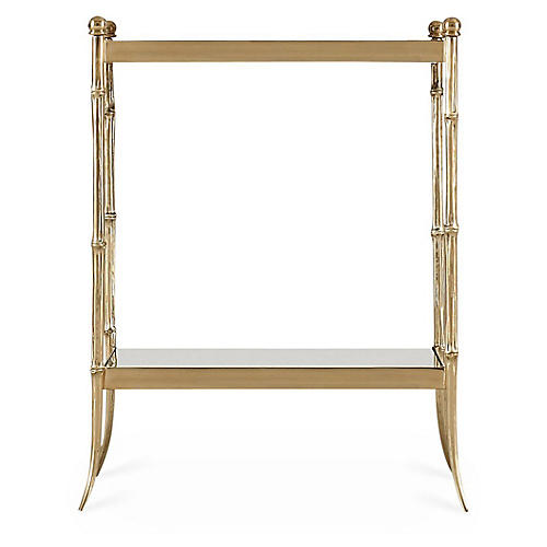 Ramsay Side Table, Gold