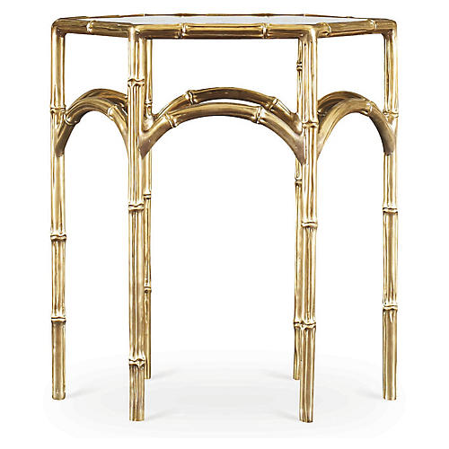 Jennie Side Table, Gold