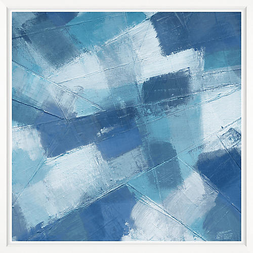 , Abstract Blue