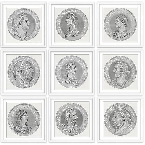 , Coin x9 set
