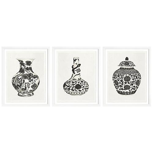 S/3 Vases