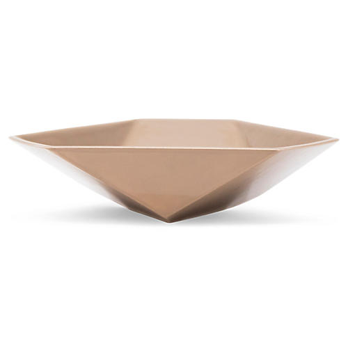 "6"" Cay Catchall, Taupe"