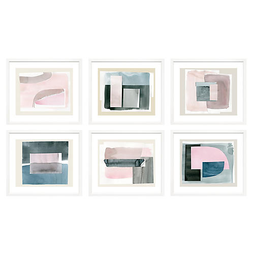 , S/6 Minimal Abstracts Landscape II