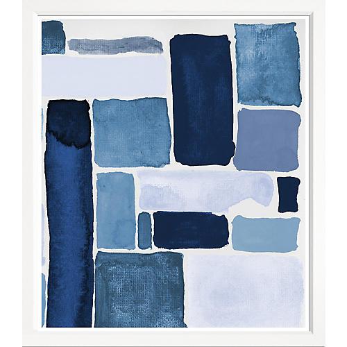 Blue Abstract II