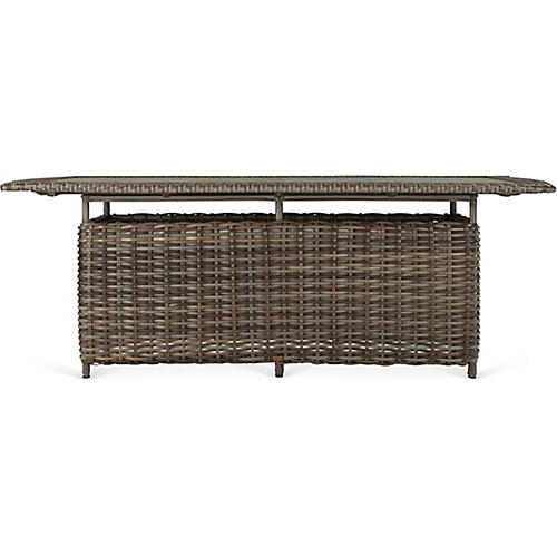 Quincy Rect. Dining Table, Brown