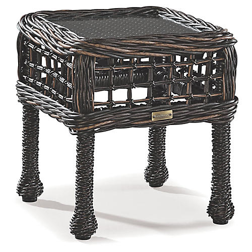 Moraya Bay Side Table, Brown