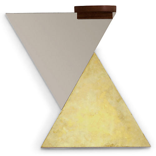 Delaney Accent Mirror Set, Gold